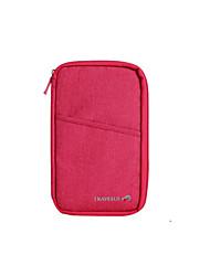 Reise Reisepassgeldbeutel Koffer Accessoires Stoff