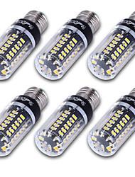 cheap -YouOKLight 500 lm E14 E26/E27 E12 LED Corn Lights T 56 leds SMD 5736 Decorative Warm White Cold White AC 85-265V