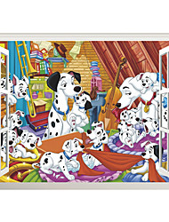 3D Wall Stickers Wall Decals Style The Secret Life of Pets PVC Wall Stickers