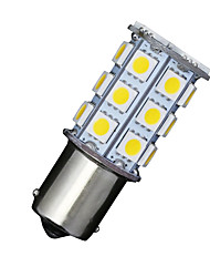 cheap -2 X Car RV Warm White 1156 BA15S 27-SMD 5050 Turn Signal Reverse LED Light bulbs