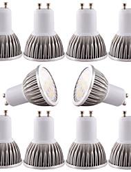 economico -4W GU10 GU5.3(MR16) E26/E27 Faretti LED MR16 16 SMD 5730 350-400 lm Bianco caldo Luce fredda Oscurabile Decorativo AC 110-130 DC 12 AC 12
