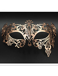 Venetian Sun Goddess  Laser Cut Metal Masquerade Ball Party Mask 3002A3