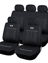 baratos -autoyouth novo estilo tampa do assento de carro de poliéster em relevo ajuste mais protetor de assento universal acessórios interior do