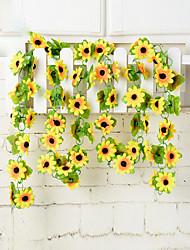 Hi-Q 1Pc Decorative Flower Sunflowers Wedding Home Table Decoration Artificial Flowers
