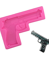Gun Type Candy Fondant Cake Molds  For The Kitchen Baking Molds 10.8*6.5*1cm
