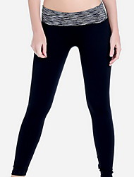 Yoga Pants Pants/Trousers/Overtrousers Breathable Compression Natural Stretchy Sports Wear Women's Yoga