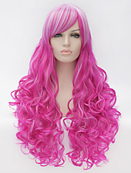 cheap -Costume Wigs / Synthetic Wig Purple Women's Capless Carnival Wig / Halloween Wig / Capless Wig Very Long Synthetic Hair