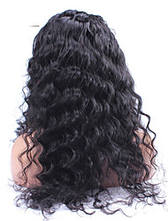 "8""-24"" 6A Brazilian Virgin Hair Loose Wave 120% Density Lace Front Wig Loose Curly Human Hair Wigs For Black Women"