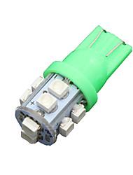 preiswerte -10x lebendige grüne t10 Keil 10-SMD-LED-Innenbeleuchtung w5w 2825 158 192 168 194 906