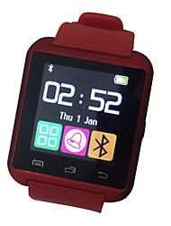 baratos -Relógio inteligente para Android Impermeável / Controle de Mensagens Temporizador / Monitor de Atividade / Monitor de Sono / Encontre Meu Aparelho / Relogio Despertador / Sensor de Gravidade
