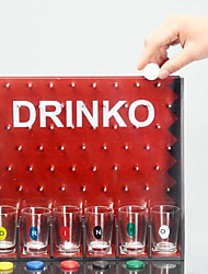 cheap -European Popular Series Drinking Fun Drop Round Game Wine Bar Toys