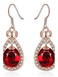 Недорогие -Женский Мода Цветной Pоскошные ювелирные изделия европейский Синтетические драгоценные камни Искусственный бриллиант Сплав Овальной формы