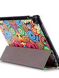 10.1 Inch Magnetic Buckle Pattern PU Leather Case with Sleep for Asus ZenPad 10(Z300C)(Assorted Colors)