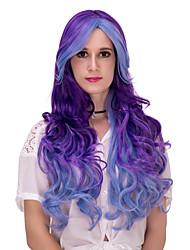 abordables -Pelucas sintéticas / Pelucas de Broma Pelo sintético Peluca Mujer Muy largo Sin Tapa