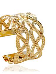 Bracciali Bracciali a polsino Lega A tubo Di tendenza Gioielli Regalo Oro / Argento,1 pezzo