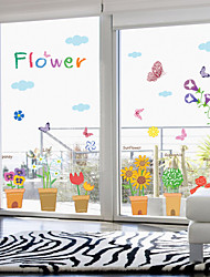 Can Remove The Green Wall Stick Window Glass Wall Stickers