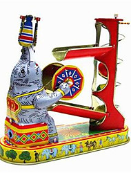 Novelty Toy  Puzzle Toy  Wind-up Toy Novelty Toy  Elephant  Metal Red For Kids