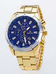 Men's Dress Watch / Quartz Alloy Band Casual Gold