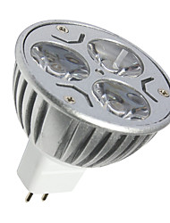 3W MR16 250LM Warm Cool White Color Led Light Bulbs Led Spot Light(DC 12V)