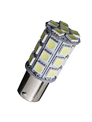 cheap -10 X White 1156 BA15S LED 27-SMD Light bulbs Tail Backup RV Camper 1141 1003 US