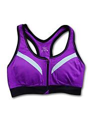 cheap -Racerback Sports Bra No Padded Medium Support For Yoga / Running - Purple / Green / Blue Anti-Shake / Damping, Quick Dry, Breathable Women's Nylon, Chinlon / Stretchy / Sweat-wicking