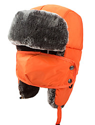 Chapka Hat Fur Hat Ski Hat Men's Women's Kid's Thermal / Warm Snowboard Polyester Winter Sports Winter