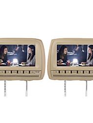 """baratos -9 """"carro headrest dvd player suporte fm transmissor sem fio jogo (1 par)"""