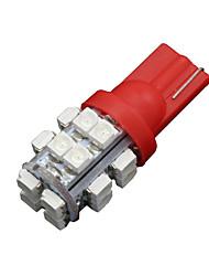 Недорогие -10 х T10 W5W 192 194 2825 168 501 158 красный 20smd привело сторона клина лампочка DC 12V
