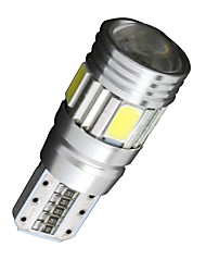 cheap -2 x Canbus Wedge T10 White 192 168 194 W5W 6 5630 SMD LED Light Lamp Bulb Error Free
