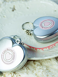 Recipient Gifts - 1Piece/Set, Heart Measure Measuring Tape Keychain Beter Gifts® Baby Shower Favors, Wedding Favors