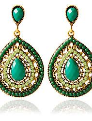 cheap -Women's Stud Earrings - Fashion Green For Wedding