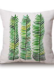 cheap -pcs Cotton/Linen Pillow Cover, Graphic Prints Still Life Textured Casual Accent/Decorative Modern/Contemporary
