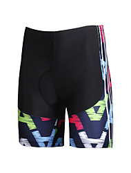 ILPALADINO Cycling Padded Shorts Women's Bike Shorts Bottoms Bike Wear Quick Dry Windproof Anatomic Design Ultraviolet Resistant