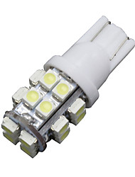cheap -6 x T10 20-SMD LED 6000K White Super Bright Car Lights Bulb 194,168,2825, W5W US