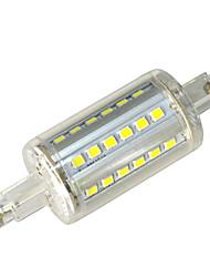 4W R7S LED Mais-Birnen T 36 Leds SMD 3528 Dekorativ Kühles Weiß 400-450lm 6000-6500K AC 85-265V