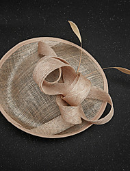 Flax Feather Fascinators Headpiece