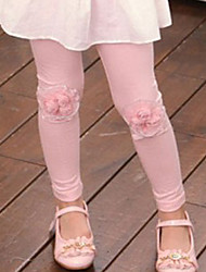 Pantaloni Bambina Per uscire Casual Cotone Collage Primavera Autunno