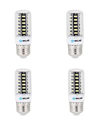 5W E14 G9 GU10 B22 E26/E27 LED a pannocchia B 64 SMD 5733 200-250 lm Bianco caldo Luce fredda K Decorativo AC 220-240 V