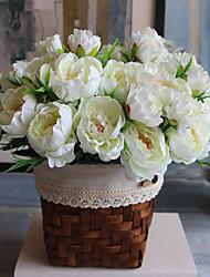 Недорогие -Искусственные Цветы 1 Филиал Современный Пионы Букеты на стол