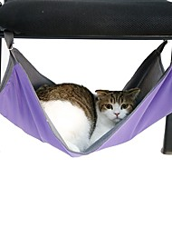 cheap -Portable Black/Purple/Blue/Rose Dual-purpose Pets Hammock for Pets Cage for Pets Dogs and Cats