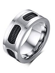 cheap -Rock Retro Drawing Titanium Steel Men's Ring