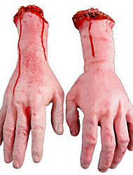 1PC Severed Scary Cut Off Bloody Fake Latex Lifesize  Hand Halloween Prop Hot