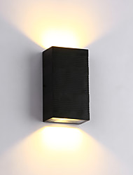 Modern 6W LED Outdoor Wall Lights Style Simplicity Hallway Stairs Entry Bedroom Hotel rooms Bedside Lamp
