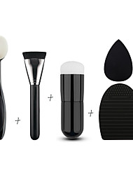 Toothbrush Synthetic Hair Professional / Foundation Brush / Kabuki brush / Cleaning Brush Egg And Makeup Sponge