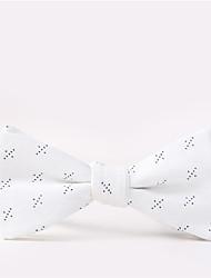 cheap -Men's Party Work Basic Cotton Bow Tie Print
