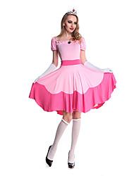 billige -Lægetaske Cosplay Kostumer / Festkostume Dame Halloween Festival / Højtider Halloween Kostumer Ensfarvet