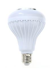 1 pcs e27 led rgb couleur ampoule lumière bluetooth contrôle smart musique audio haut-parleur lampes (ac85-265v)