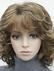 Недорогие -Парики из искусственных волос # 130 Коричневый и блондинистыми прядками # 24B Искусственные волосы Жен. Разноцветный Парик Hivision