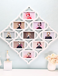 cheap -1PC Wedding Europea-Style Cozy Holiday Gift Family Random Color Bureaux Counter Decorations Photo Frame