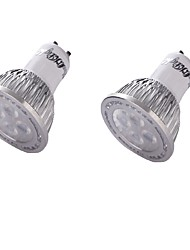 cheap -GU10 LED Spotlight MR16 4 SMD 3030 350 lm Warm White 3000 K Decorative AC 85-265 AC 220-240 AC 100-240 AC 110-130 V